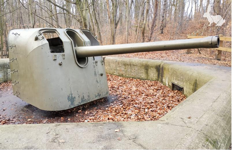 Fortyfikacje Pomorskie - Stanowisko ogniowe nr 1